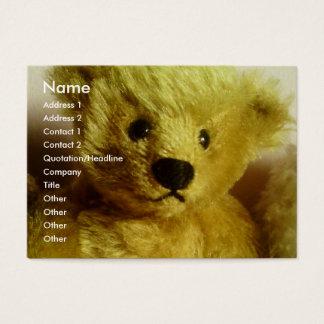Teddy Bear Business Card