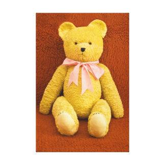 teddy bear gallery wrapped canvas