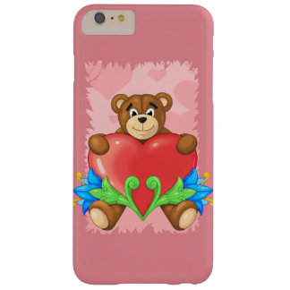 teddy bear barely there iPhone 6 plus case