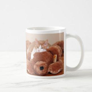 Teddy Bear Cat Coffee Mug