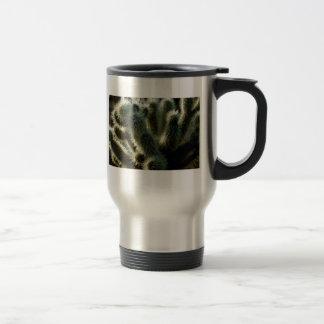 Teddy bear cholla cactus coffee mug