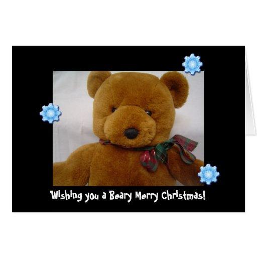 Teddy Bear Christmas Cards