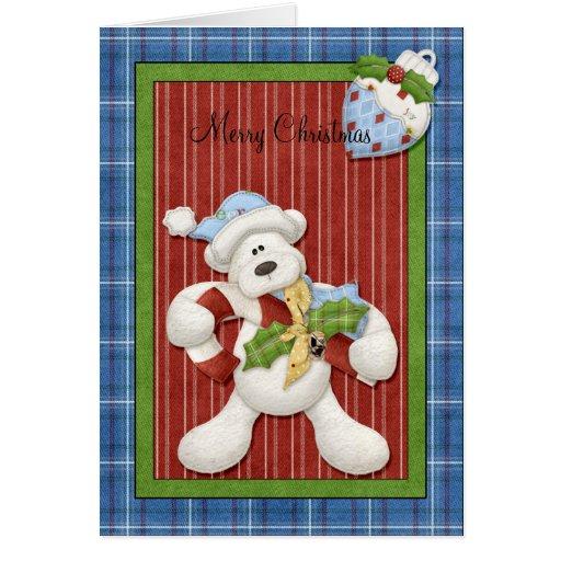 Teddy Bear Christmas Greeting Cards