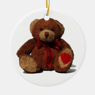 Teddy Bear Christmas Ornament
