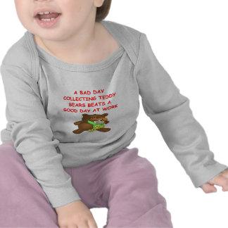 teddy bear collector t-shirts
