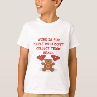 teddy bear collector tshirts