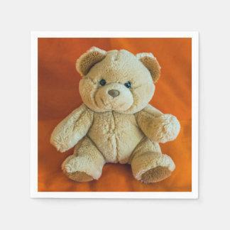 Teddy bear disposable serviettes