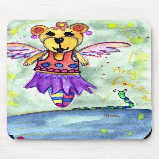 teddy bear elf mouse pads