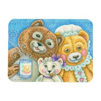 TEDDY BEAR FAMILY MAGNET *Customize