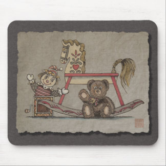 Teddy Bear Family Mouse Pad