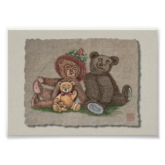 Teddy Bear Family Art Photo