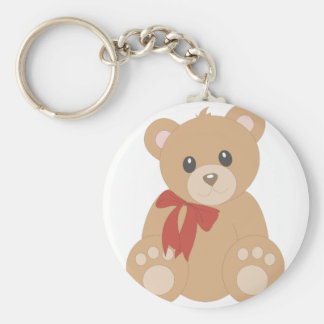 """Teddy Bear"" for Boys Keychains"