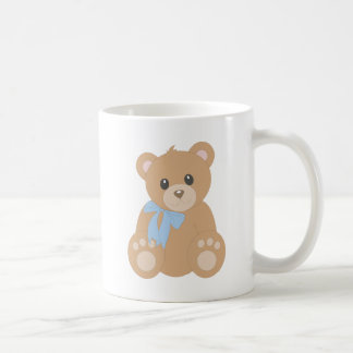 """Teddy Bear"" for Boys Basic White Mug"