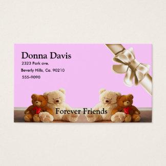 Teddy Bear Friends Set Business Card