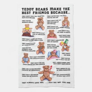Teddy Bear Friends Towel