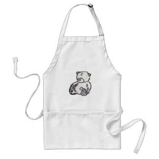 Teddy bear from the attic standard apron