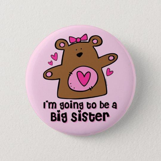 Teddy Bear Future Big Sister Pin