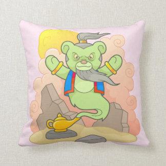 Teddy bear genie cushion