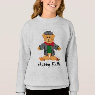 Teddy Bear Happy Fall Sweatshirt