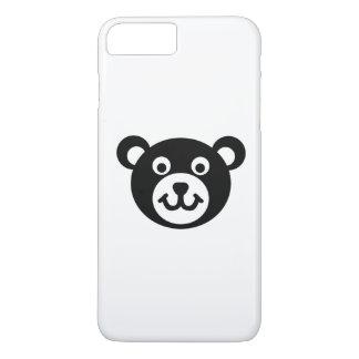 Teddy bear head iPhone 7 plus case