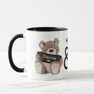 Teddy Bear Hugs Coffee Mug