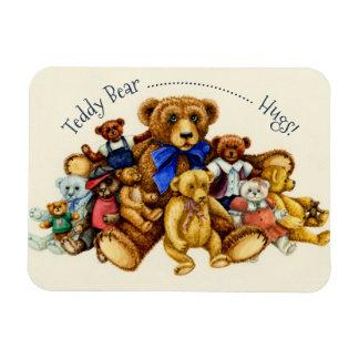 TEDDY BEAR HUGS MAGNET *Customize