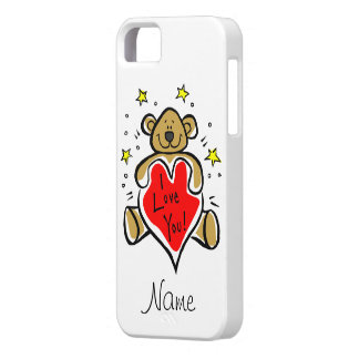 Teddy Bear I Love You iPhone 5 Case