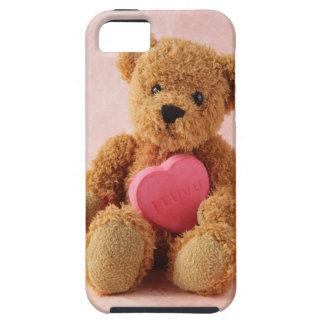 teddy bear I luv u iphone tough case