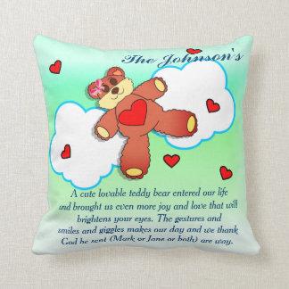 Teddy Bear In the Clouds Cushion