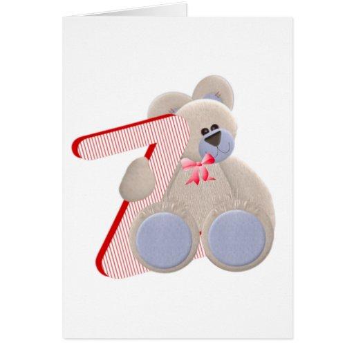 Teddy Bear Initial Z Greeting Card