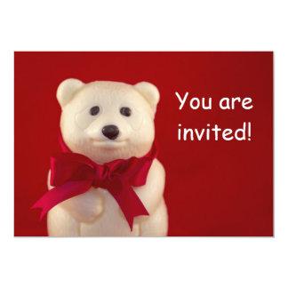 Teddy Bear Invitation Card
