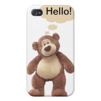 Teddy Bear iPhone Case iPhone 4 Cover