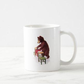 Teddy Bear Irons Clothes Mugs