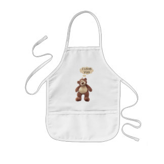 Teddy Bear Kids Apron