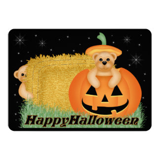 Teddy Bear Kid's Halloween Party Invitation