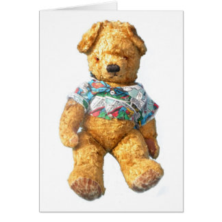 Teddy Bear - Krumble Card