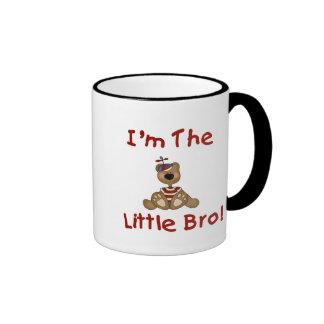Teddy Bear Little Bro Ringer Mug