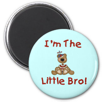 Teddy Bear Little Bro Tshirts and Gifts Magnet
