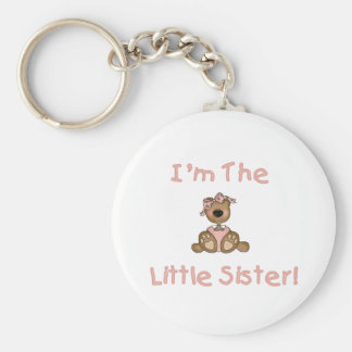 Teddy Bear Little Sister Key Ring