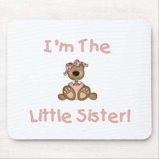 Teddy Bear Little Sister Mouse Pad