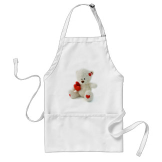 *Teddy Bear Love* Cute Teddy Standard Apron