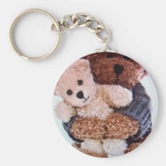 teddy bear love keychain