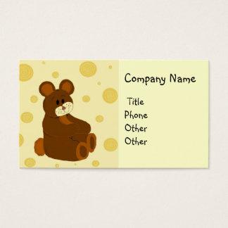 Teddy Bear Making Business Card