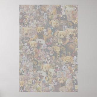 Teddy Bear Medley Print