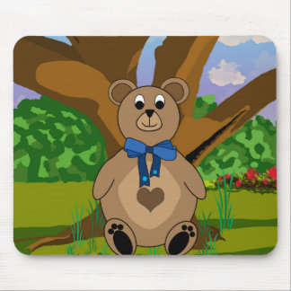 Teddy Bear Mouse Mat