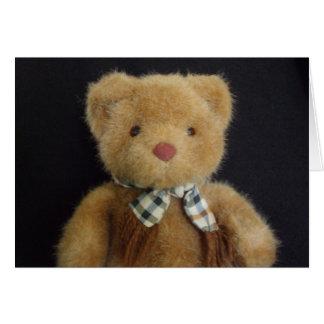Teddy Bear notecard