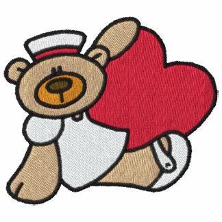 Teddy Bear Nurse Embroidered Shirt