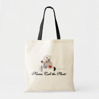 Teddy Bear Nurses Call the Shots T-shirts and Gift Tote Bag
