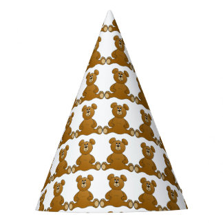 Teddy Bear Party Hat