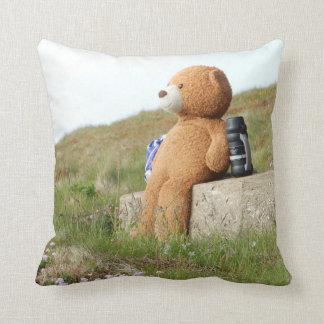 TEDDY BEAR PICNIC CUSHION